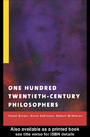 One Hundred Twentieth-Century Philosophers