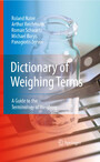 Dictionary of Weighing Terms - A Guide to the Terminology of Weighing